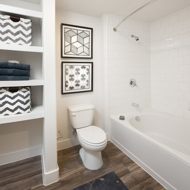 Cypress at Trinity Groves - Bathroom Complete with Soaking Tub